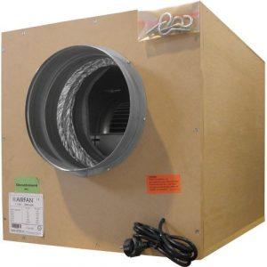 Extractor Softbox (3250 m3 - boca 315 y 2x250) + Coronas