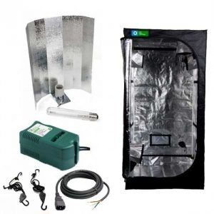 KIT DE CULTIVO INTERIOR 120X120X200CM 600W GROW TENT